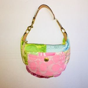 Coach Hobo Patchwork Handbag